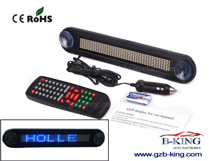 Scrolling Outdoor Indoor Car LED Display Bar