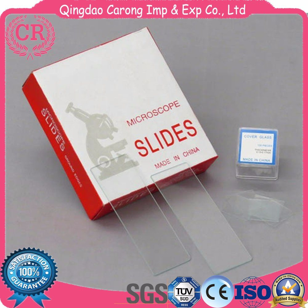 Lab Disposable Microscope Slides Cover Glass 7101