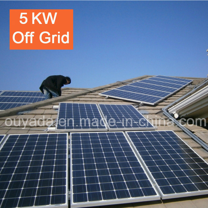 Factory Price Home Use off Grid Solar Power System 5kw