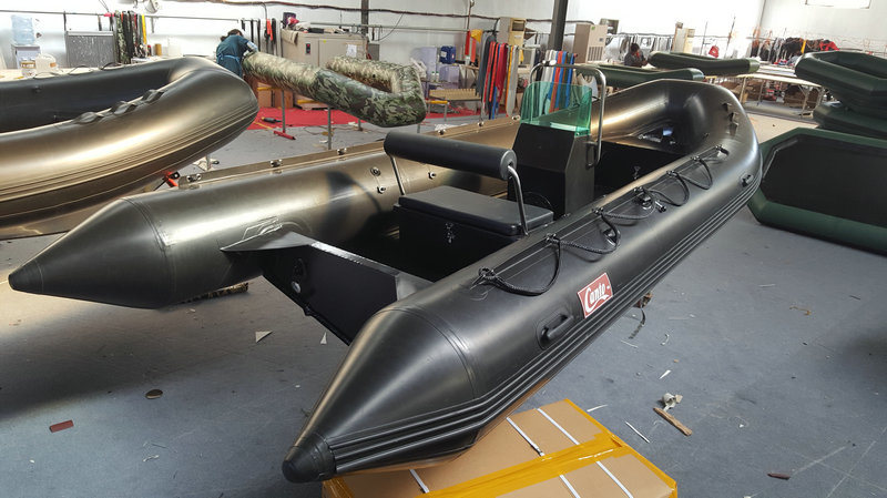 5.2m Inflatable Boat, Rib Boat, Fishing Boat, PVC or Hypalon Sport Boat Rib520A with Aluminum Hull