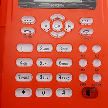Desktop SIM Card GSM Fixed Wireless Phone (KT1000(130))