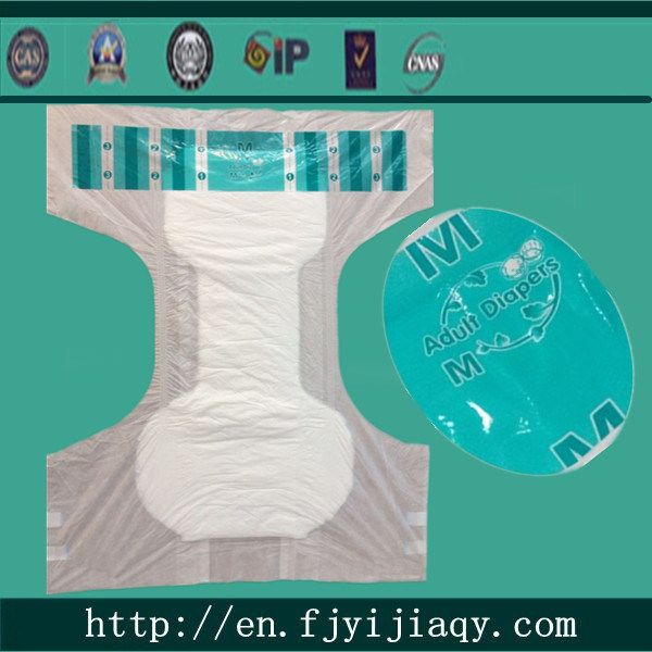 Disposable Adult Diaper with Wetness Indicator India Pakistan Africa Market