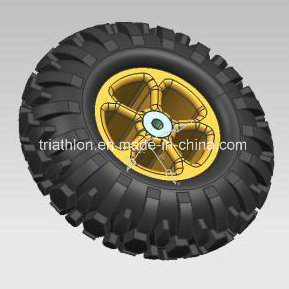2.50-4 9X3 Scooter or Bicycle Trailer Tubeless Tire with Aluminum Rim