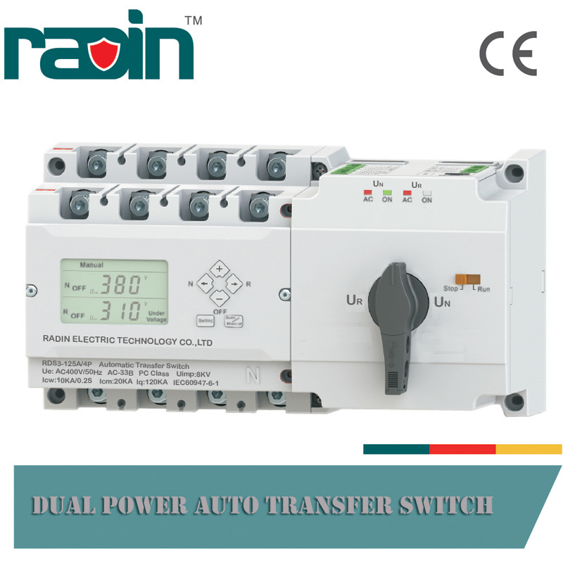 RDS3 Series Dual Power Auto Transfer Switch, Static Transfer Switch