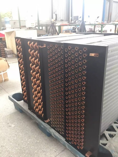 Copper Tube -Aluminum Fin Evaporator