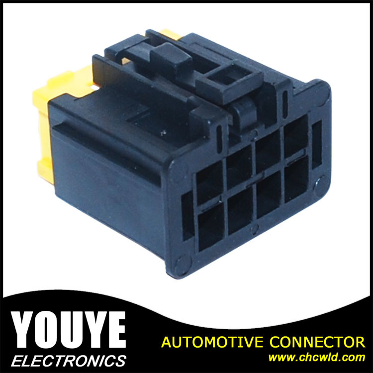 8 Pin 2.8mm Pitch Black Color Connector
