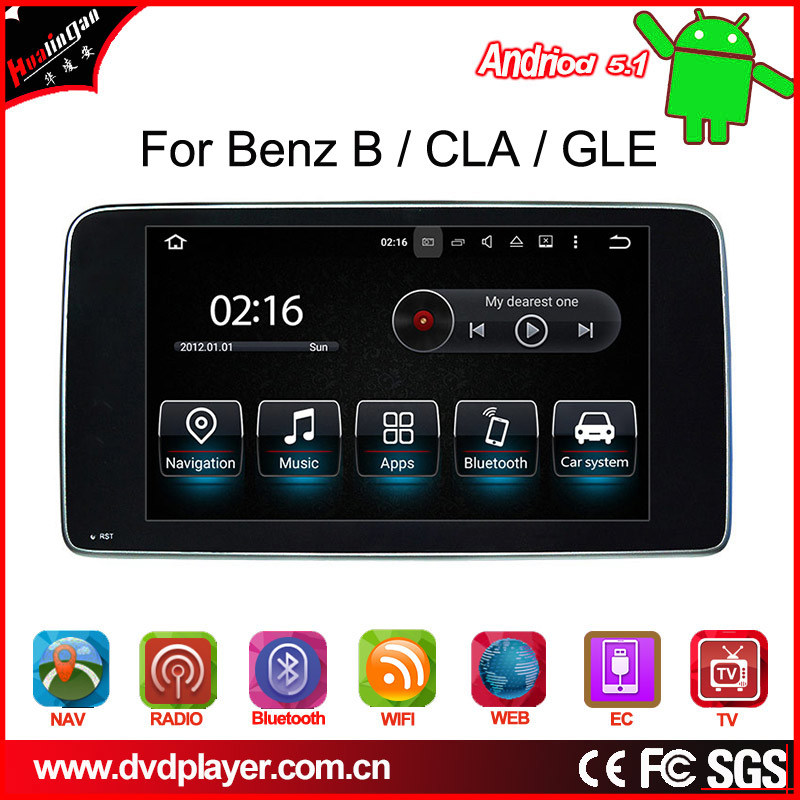 """Anti-Glare 9""""Benz Gla/Cla/Cls/a/G Android 7.1 Car Stereo with Carplay 2+16g"""