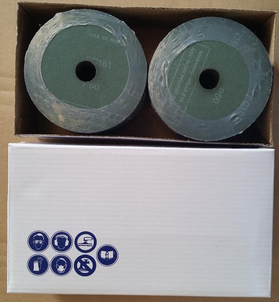 High Quality Silicon Carbide Fiber Disc/Sanding Disc/Resin Fiber Disc/Coated Disc