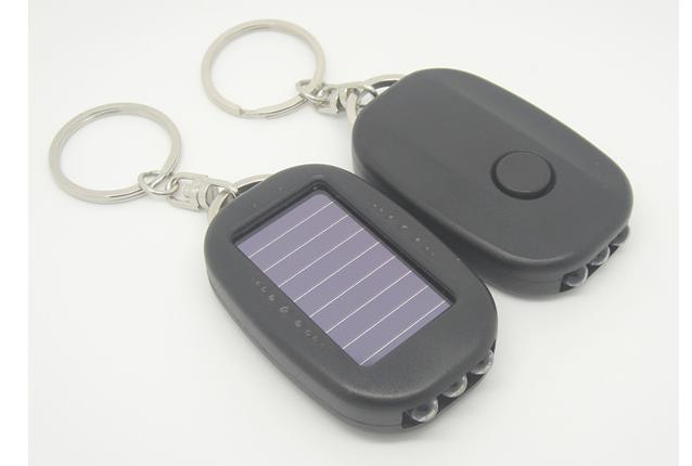 New Solar Energy (oval) Flashlight