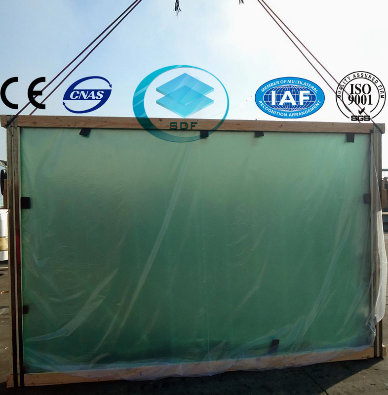 Building Glass with CE, ISO (2-19mm)