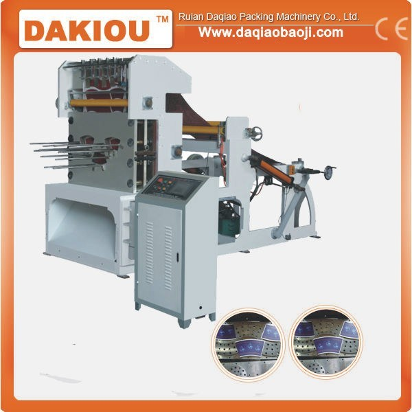 Automatic Roll Metal Die Punching Machine for Paper Cup Fan