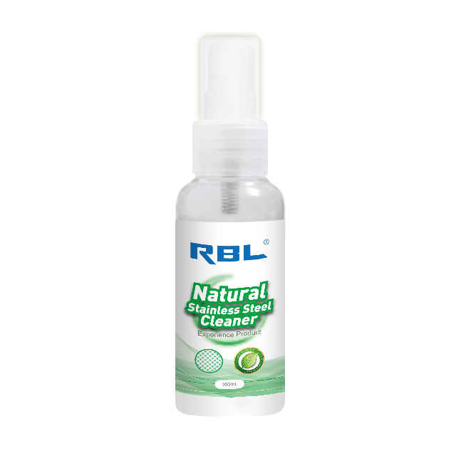 Rbl Natural Stainless Steel Cleaner 100ml Detergent Bio-Degreaser