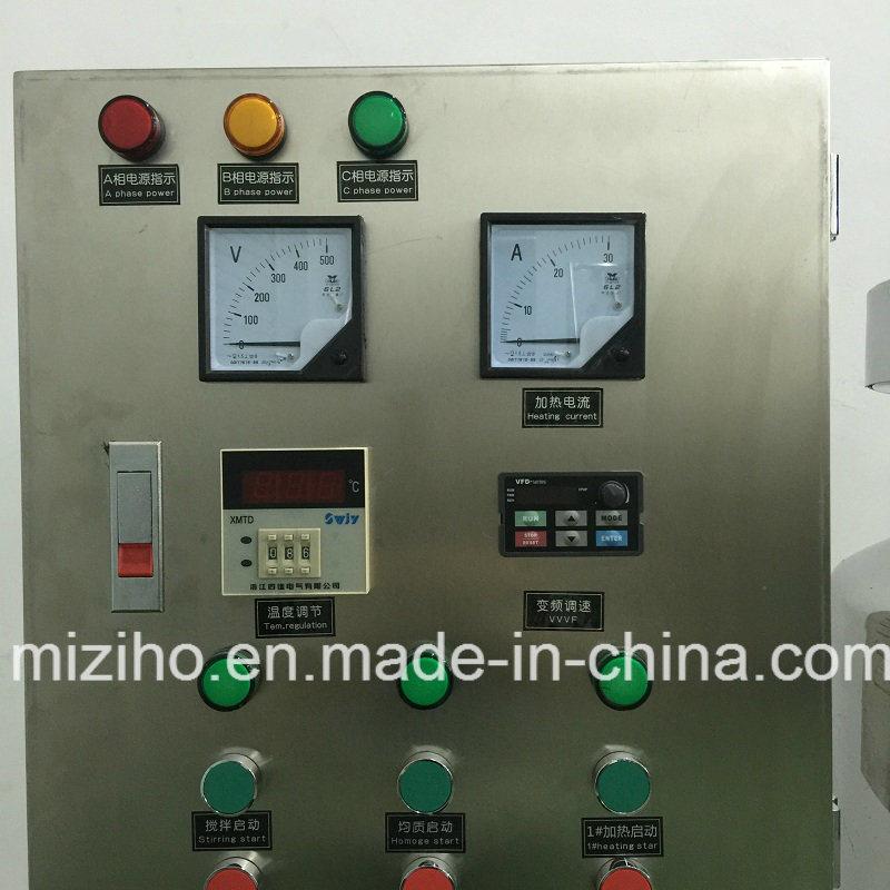 Cosmetic Shampoo Mixing Agitator Machine