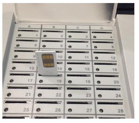 128 Slots Simbank, SMB128 SIM Bank with Server Software, SIM Bank 128 for GSM GoIP Gateway