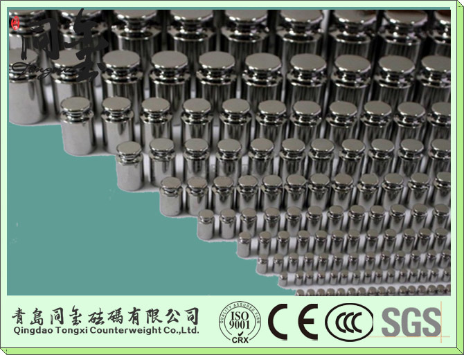 F1, F2 and M1 Class Standard 304 Calibration Stainless Steel Weights