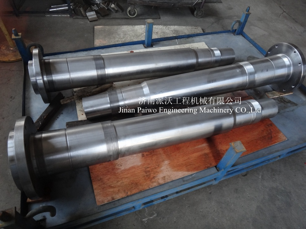Alloy Steel Forging Normalizing Tempering CNC Machining Customized Shaft Used for Industrial Machinery
