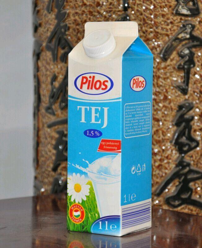 1000ml 3 Layer Gable Top Carton for Milk