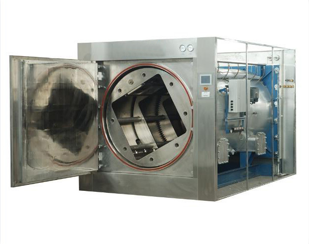 Fat Emulsion Rotary Autoclave Amino Acid Rotary Hot Water Sprinkling Sterilizer
