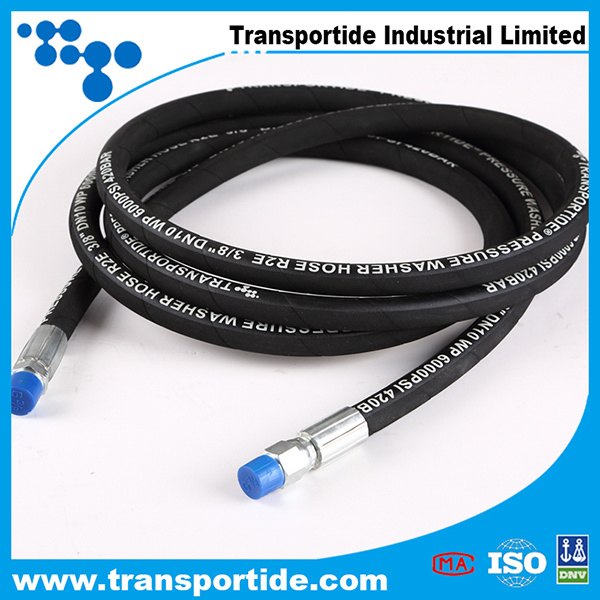Colorful Power Pressure Washer Hose for Hydraulic Rubber Hose
