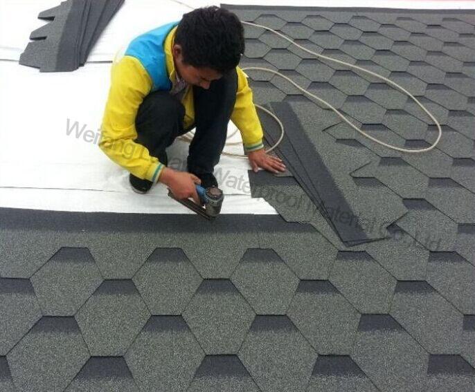 Colorful Asphalt Roofing Tiles From Professional Manufacturer, Colorful Asphalt Shingle