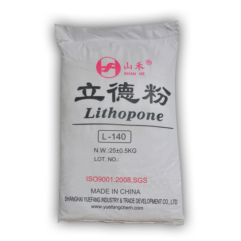 Rubberlith Lithopone Zinc Sulfide Mixed with Barium Sulfate (L-140)