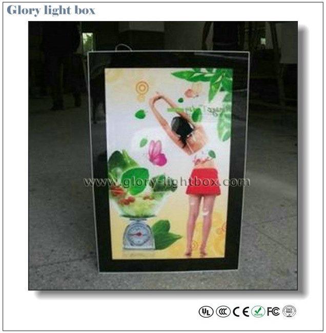 Advertising LED Lighting Slim Sign