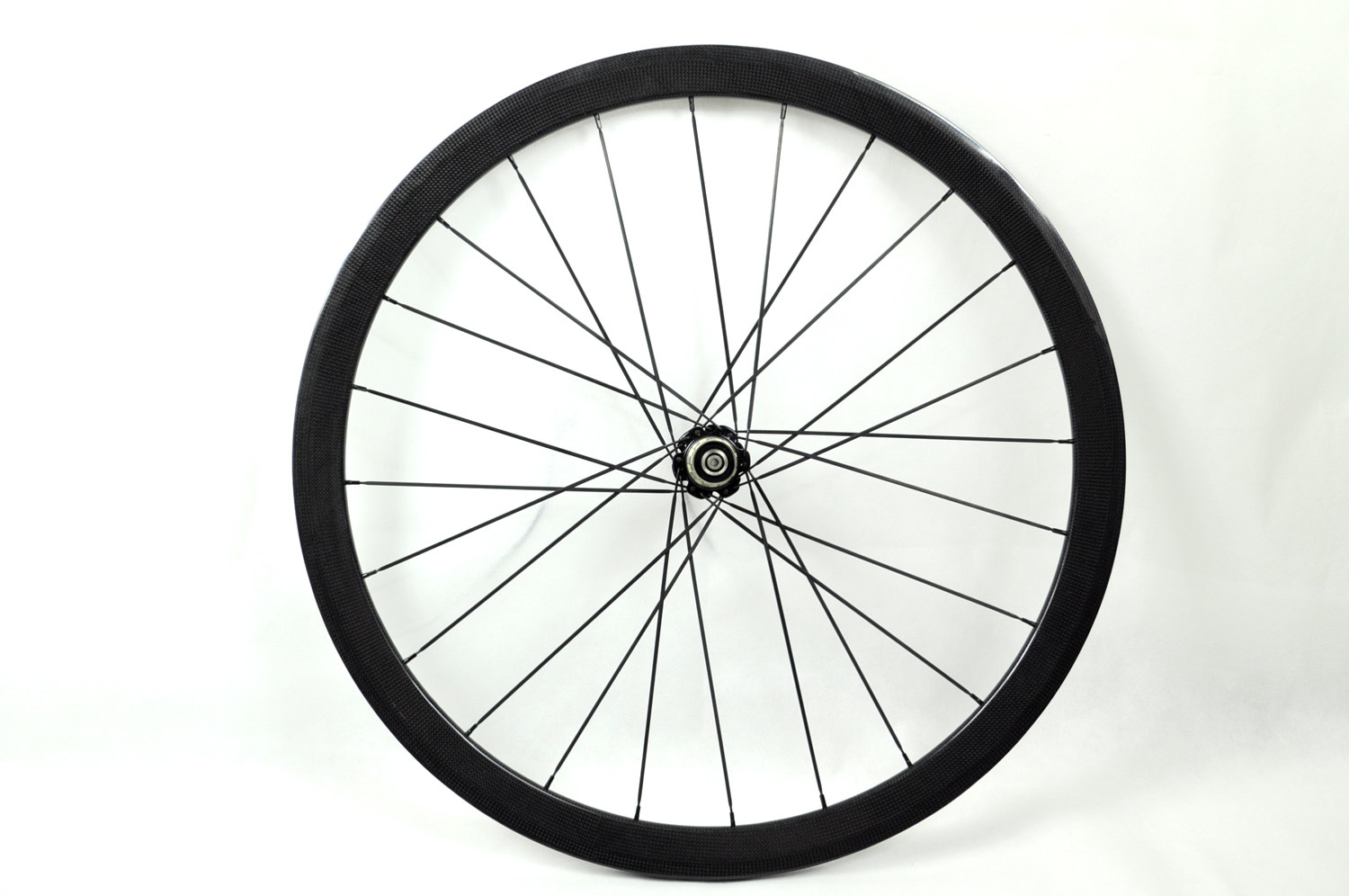 China 700c 3k 38mm tubular full carbon bicycle wheels with for Making bicycle wheels