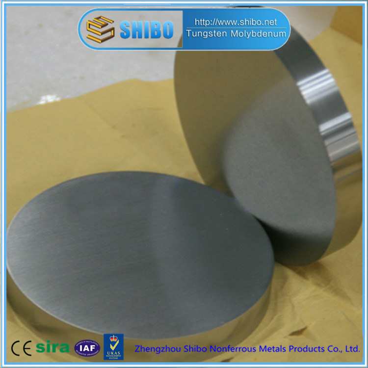 Superior Quality Molybdenum Disc (purity 99.95%) with Factory Price
