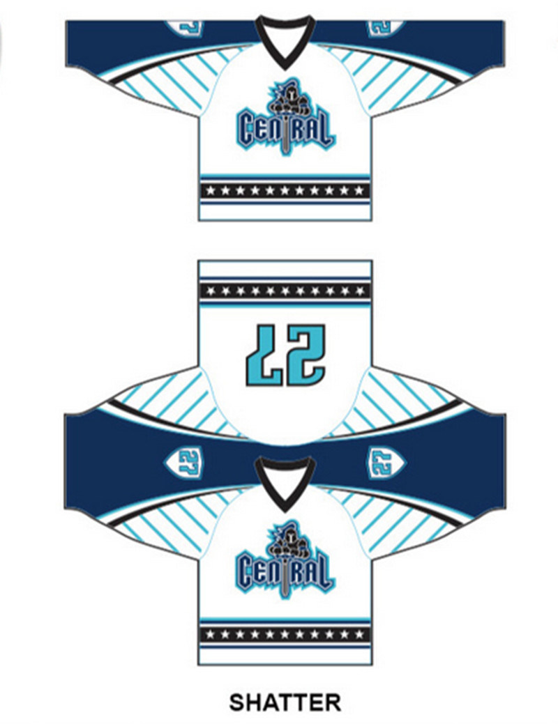 Factory Outdoor Sportwear Dri Fit Sublimation Printing Rugby Ice Hockey Jersey Clothes
