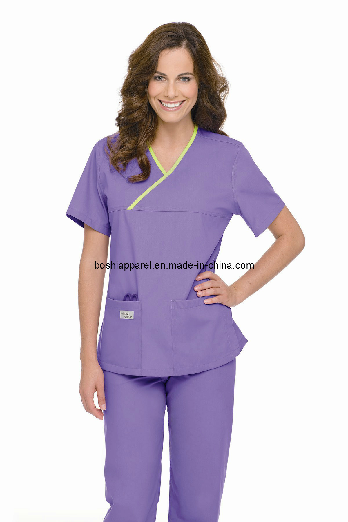China ladies scrub uniforms hospital workwear la bs31 photos