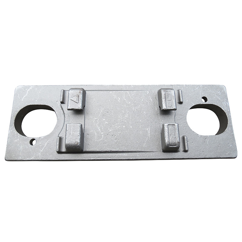 Ts-16949 Proved Steel Forging Machinery Part Custom-Made Forging Part for Rails-Tie-Plate 2