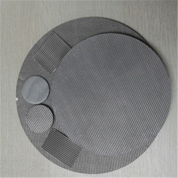 304, 316 Fine Mesh Stainless Steel Filter Discs