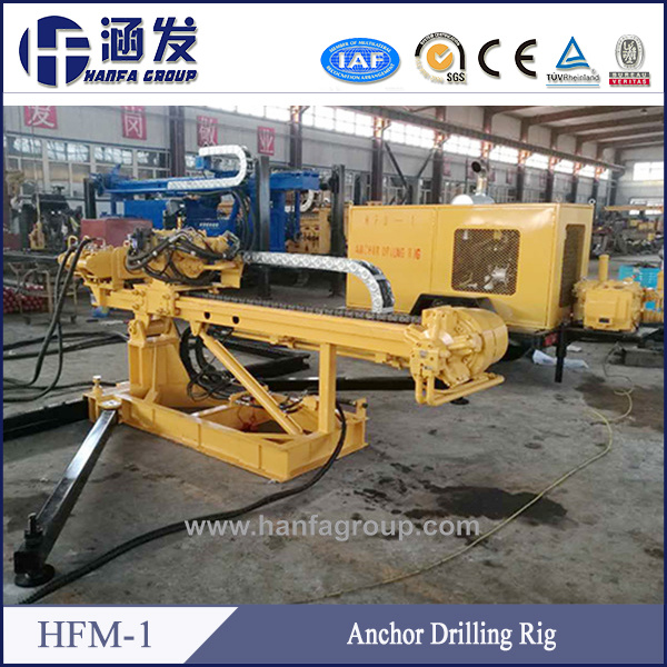 Hfm-1 Anchor Drilling Rig Foundation Drilling Machine Micropile Drill