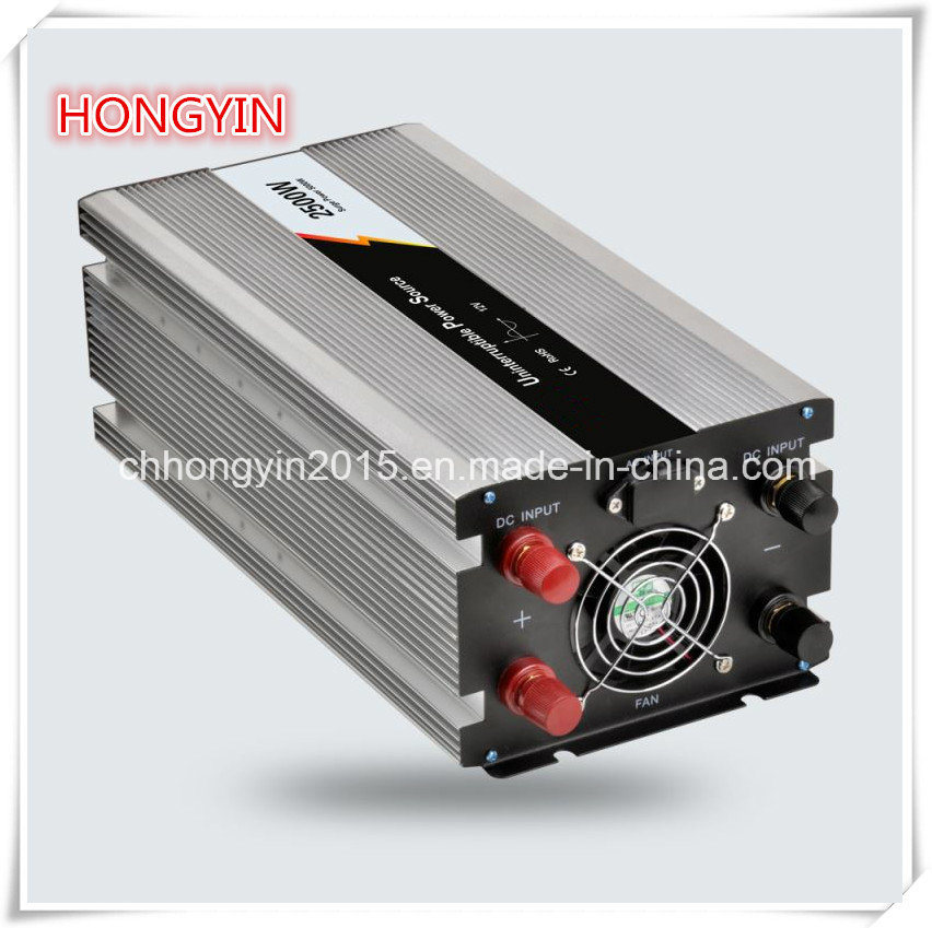 Full Protection Pure Sine Wave 2500W Inverter with Charger