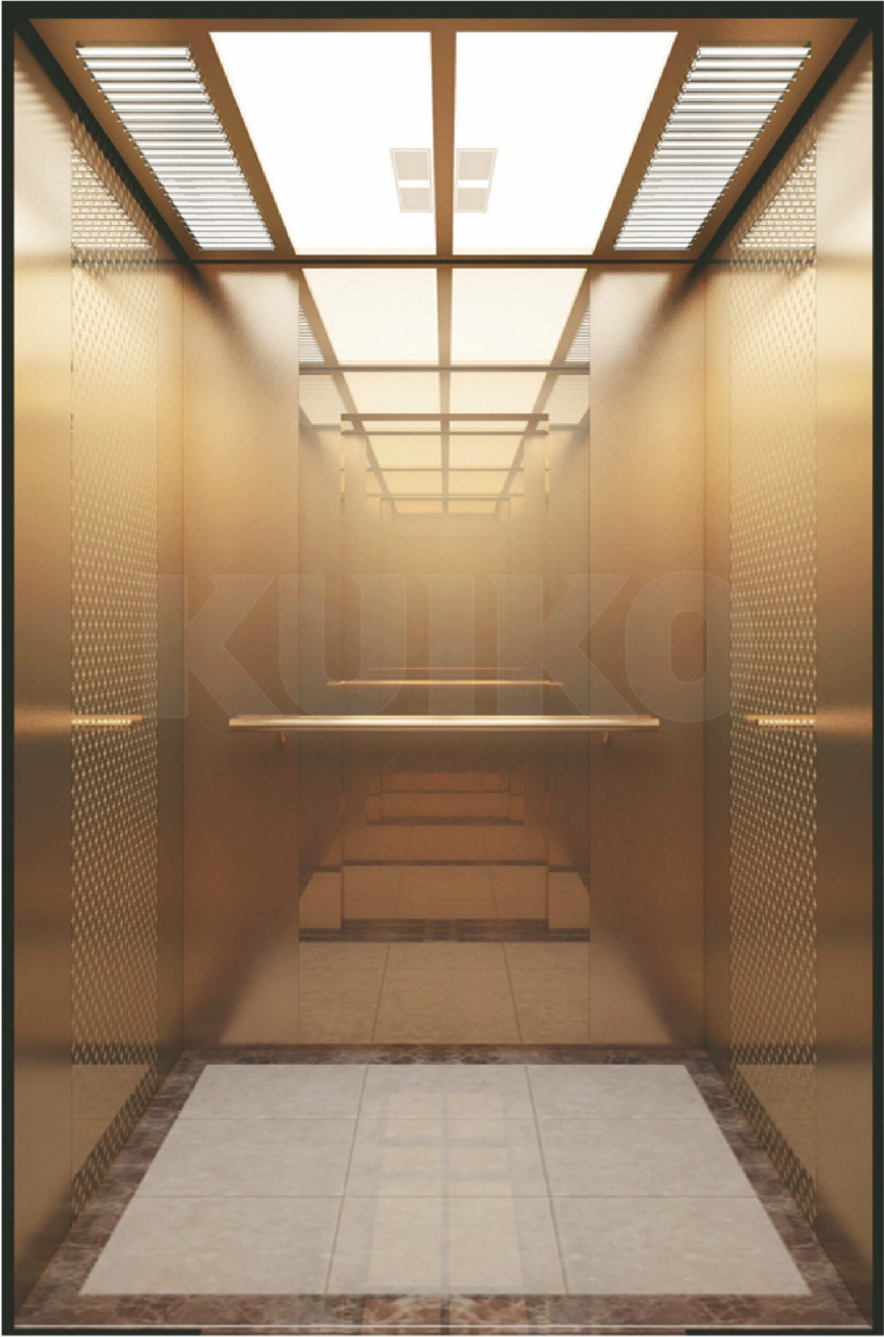 Safety Passenger Lift Business Machine Room Elevators