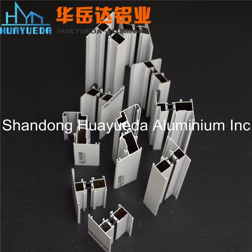 Heat Insulation System Powder Coated Aluminium Extrusion Profile