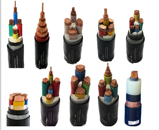6.35/11kv Copper or Aluminum Conductor XLPE Insualted Power Cable