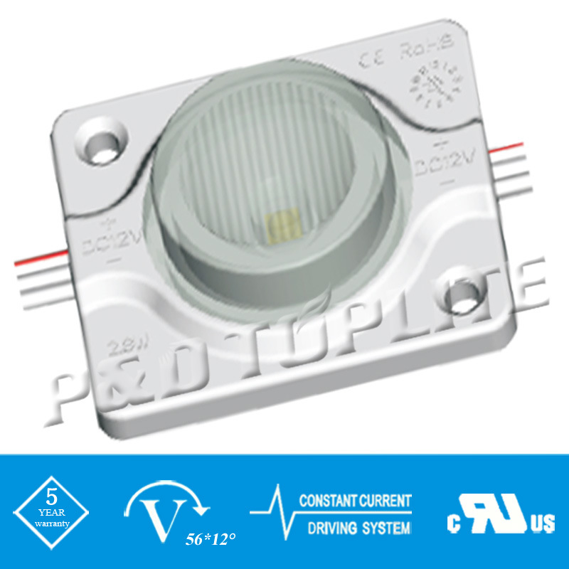 UL CE 3535 1.44W IP67 Injection Waterproof LED Module (43*36mm)
