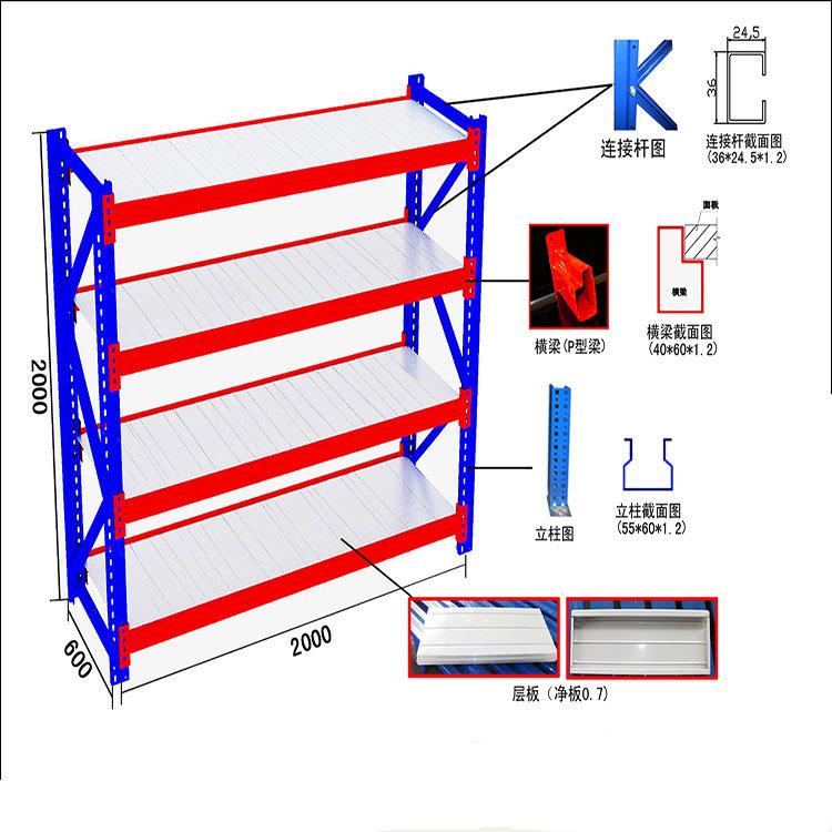 Lonspan Shelf Metal Shelving for Sale