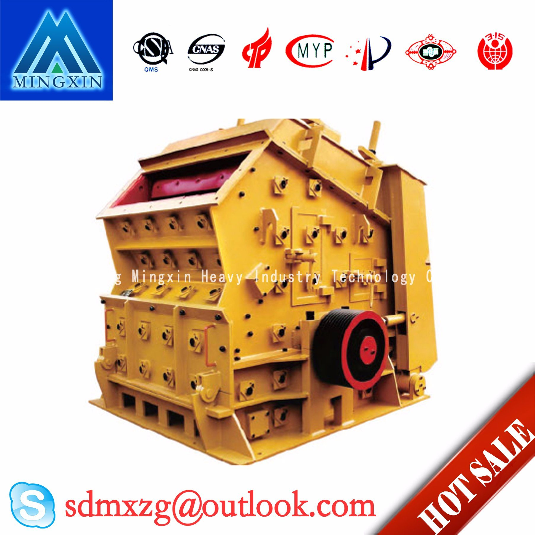 PF Impact Crusher Crushing Material of Mining Machine