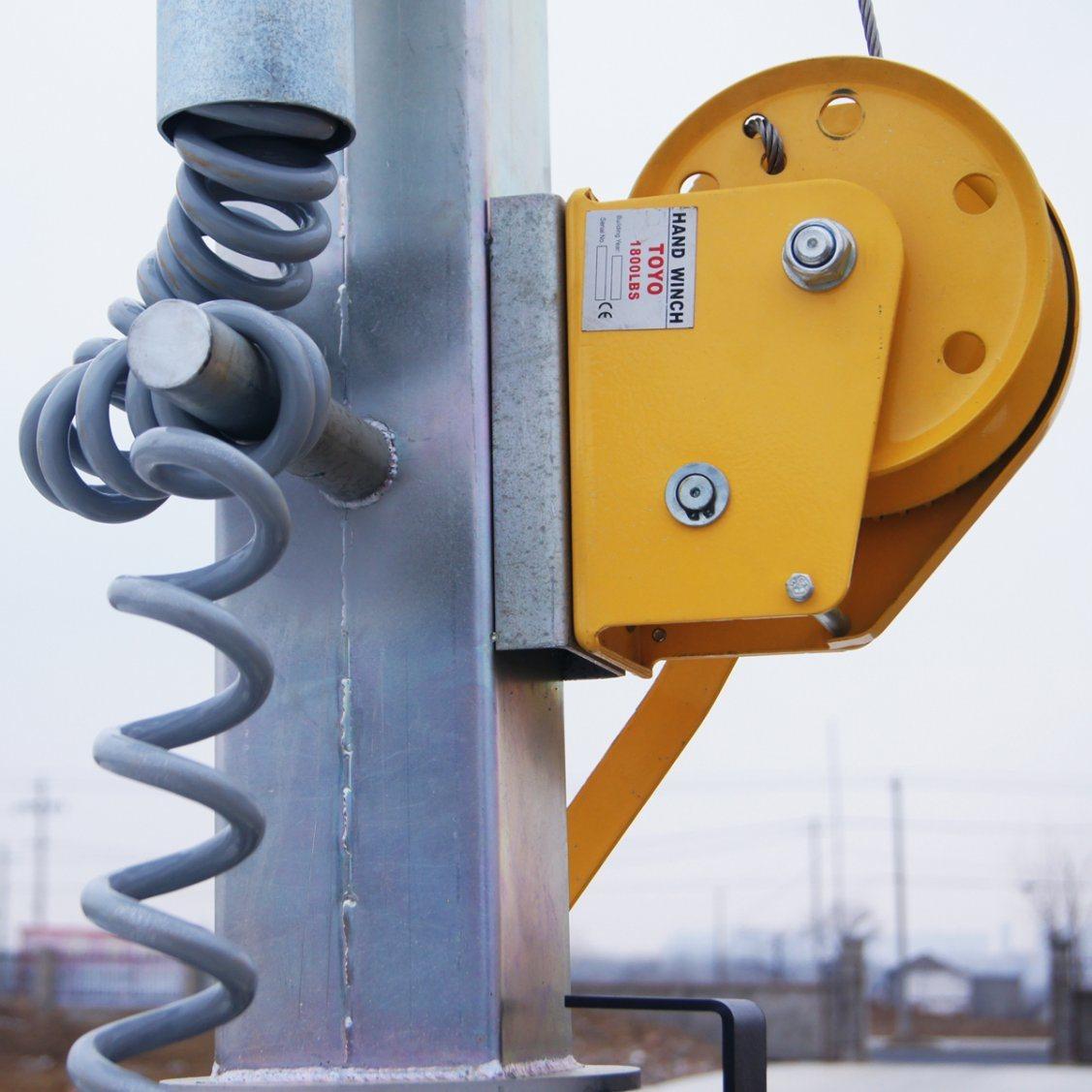 10m Illuminated Mobile Light Tower Powered by Kutoba/Perkins/Kholer