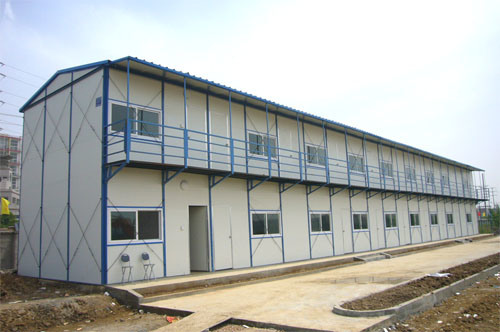 Temporary Construction Office : China temporary construction site dormitories building
