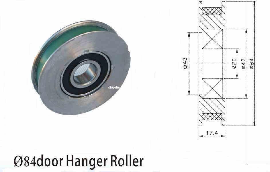 china 84 door hanger roller ml 001 g china elevator. Black Bedroom Furniture Sets. Home Design Ideas