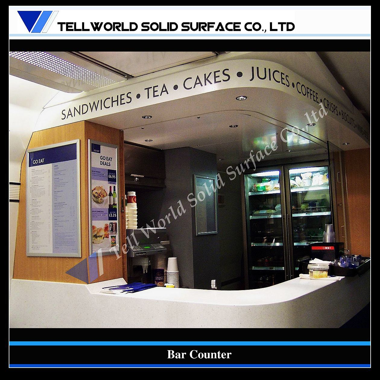 Top Design Modern Commercial Home Bar Counter (TW-108) photo ...