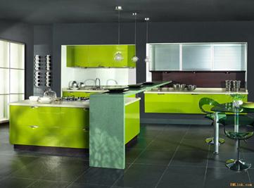 high gloss bake painted kitchen cabinet china fashionable kitchen