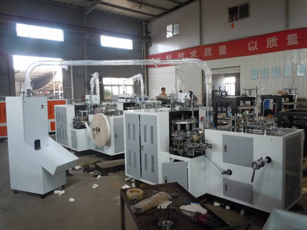 Full Automatic Paper Cup Forming Machine with Shooter System