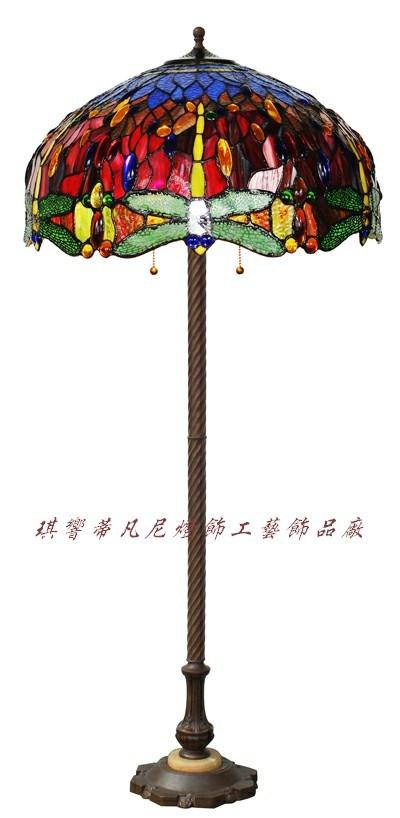 China Tiffany Dragonfly Floor Lamp - China tiffany floor ...
