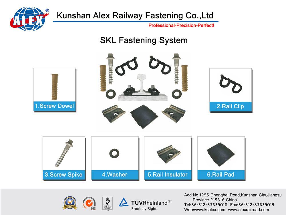 Skl Rail Clips for Railway Fastening System (Skl1, Skl3, Skl12, Skl14)