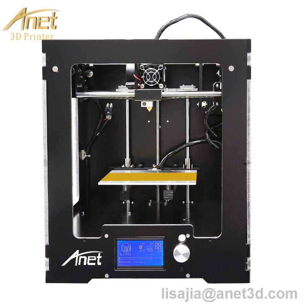 2017 Hot! ! ! Anet A3 Full Assembled Desktop 3D Printer Precision Reprap Prusa I3 3D Printer with 1roll Filaments+16g SD Card+Tool