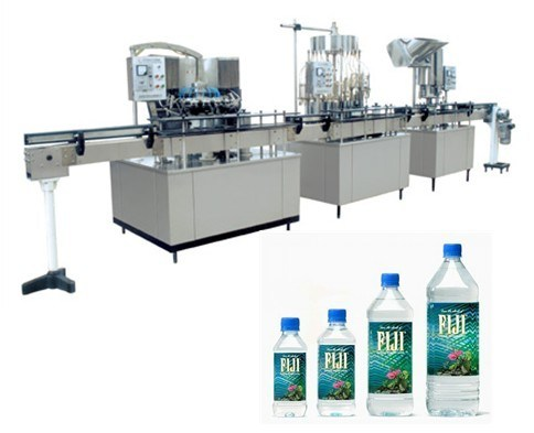 Small Bottle Washing Filling Capping Machine, Filling Water Machine